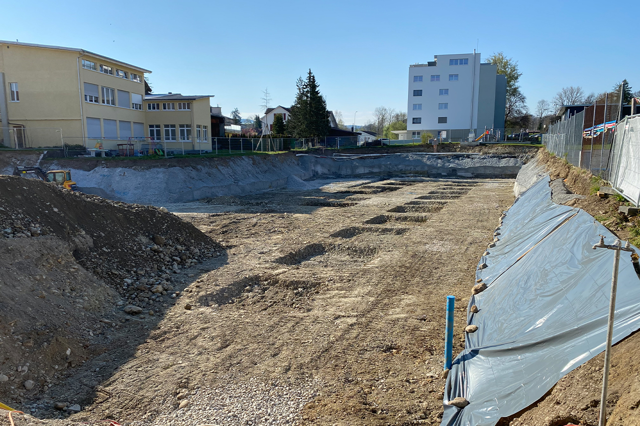 Zivital-Überbauung mit 25 Wohnungen